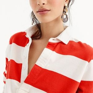 J. Crew Tops - NWT J. Crew Women's 1984 Rugby Shirt in Stripe